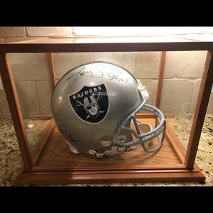 Hall of Fame KEN STABLER helmet
